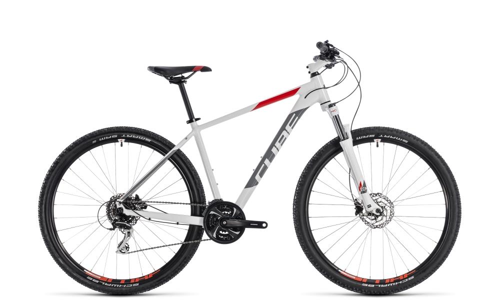 Cube Aim Race white´n´red 2018 Größe: 18´´ - Cube Bikes » Fahrrad kaufen im Cube Bike Store Fahrrad Shop