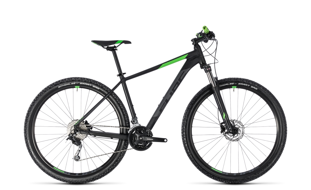 Cube Aim SL black´n´flashgreen 2018 Größe: 23´´ - Bergmann Bike & Outdoor