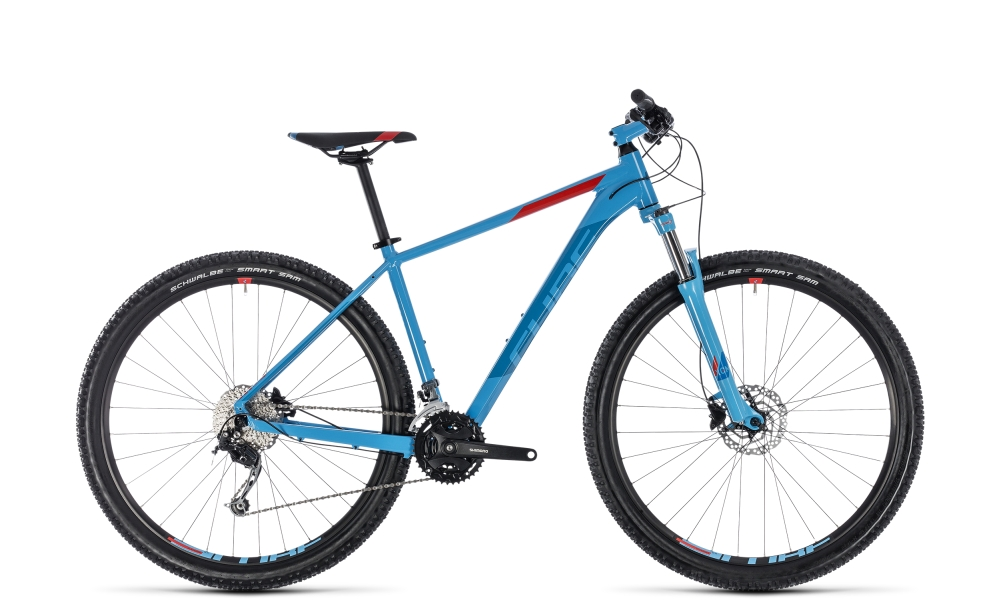 Cube Aim SL blue´n´red 2018 Größe: 14´´ - Bergmann Bike & Outdoor