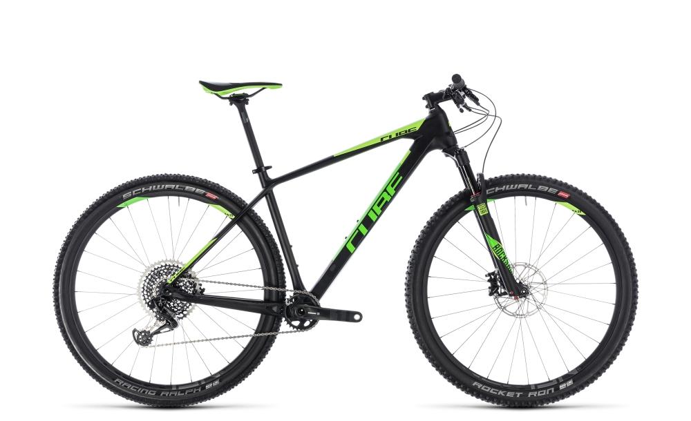 Cube Reaction C:62 Eagle carbon´n´green 2018 Größe: 15´´ - Bikesport Scheid - Ihr Fahrradfachgeschäft im Saarland