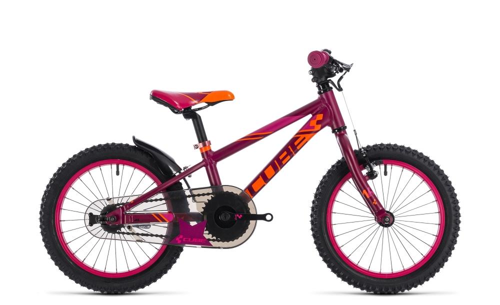 Cube Kid 160 girl berry´n´pink 2018 Größe: 16´´ - Bergmann Bike & Outdoor