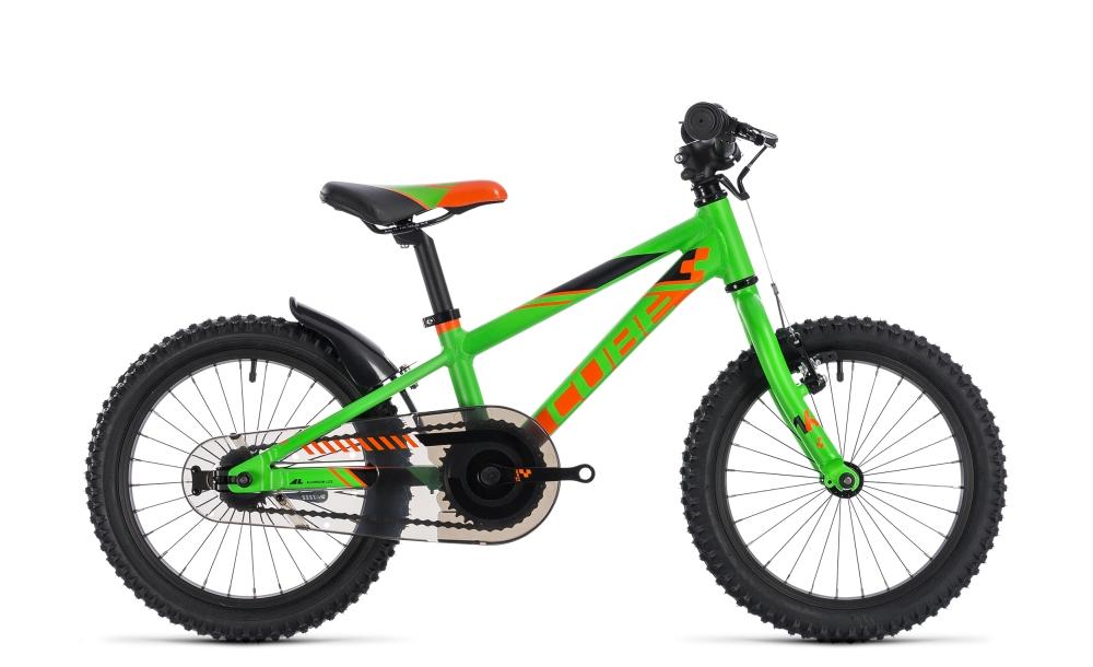 Cube Kid 160 flashgreen´n´orange 2018 Größe: 16´´ - Bergmann Bike & Outdoor