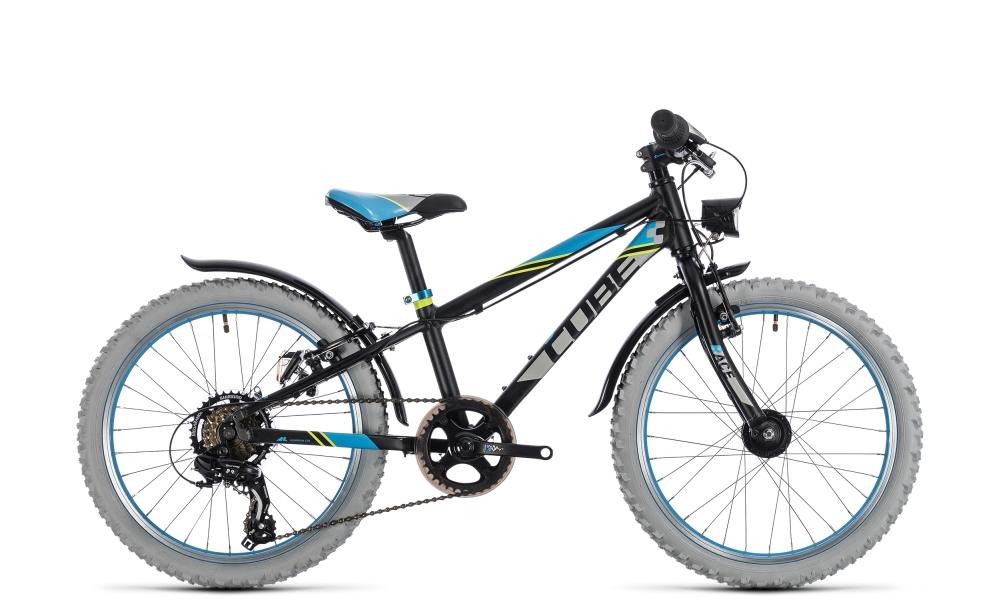 Cube Kid 200 Allroad black´n´blue 2018 Größe: 20´´ - Cube Bikes » Fahrrad kaufen im Cube Bike Store Fahrrad Shop