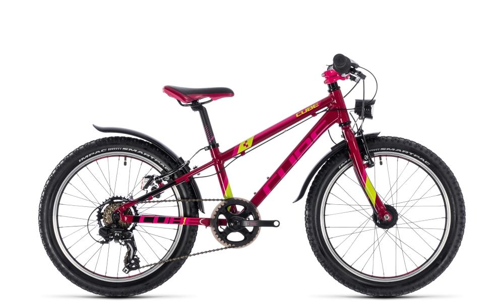 Cube Kid 200 Allroad girl berry´n´pink´n´kiwi 2018 Größe: 20´´ - Cube Bikes » Fahrrad kaufen im Cube Bike Store Fahrrad Shop