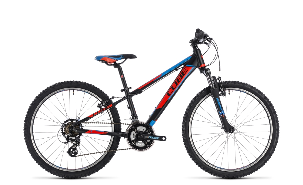 Cube Kid 240 black´n´flashred´n´blue 2018 Größe: 24´´ - Bergmann Bike & Outdoor