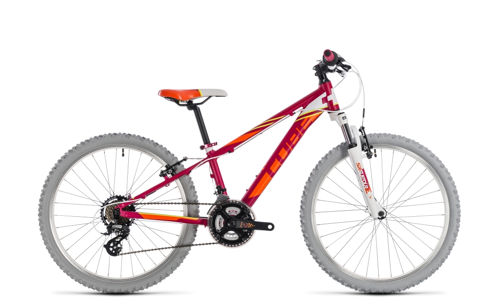 Cube Kid 240 girl berry´n´white 2018 Größe: 24´´ - Bergmann Bike & Outdoor