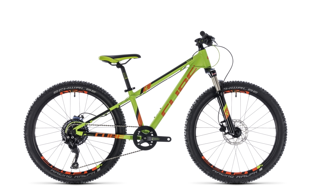 Cube Kid 240 Race green´n´orange 2018 Größe: 24´´ - Bergmann Bike & Outdoor