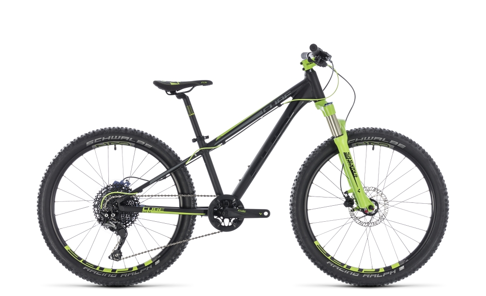 Cube Kid 240 SL black´n´green 2018 Größe: 24´´ - Bergmann Bike & Outdoor