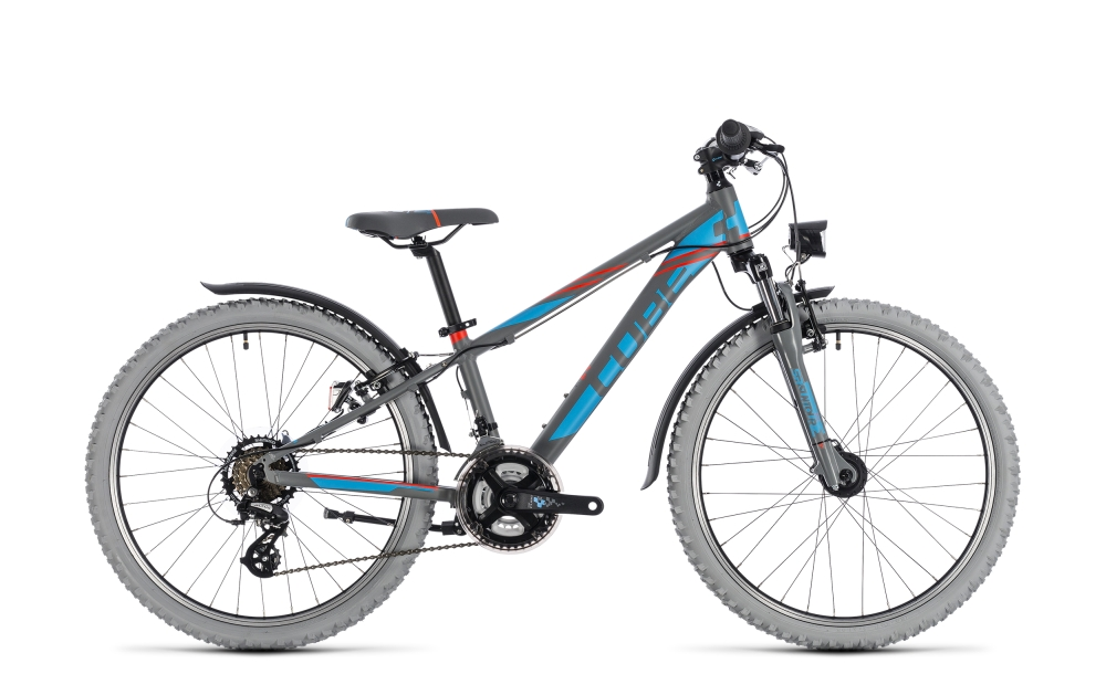 Cube Kid 240 Allroad grey´n´blue 2018 Größe: 24´´ - Bergmann Bike & Outdoor