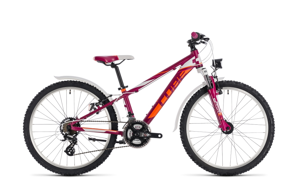 Cube Kid 240 Allroad girl berry´n´white 2018 Größe: 24´´ - Bergmann Bike & Outdoor
