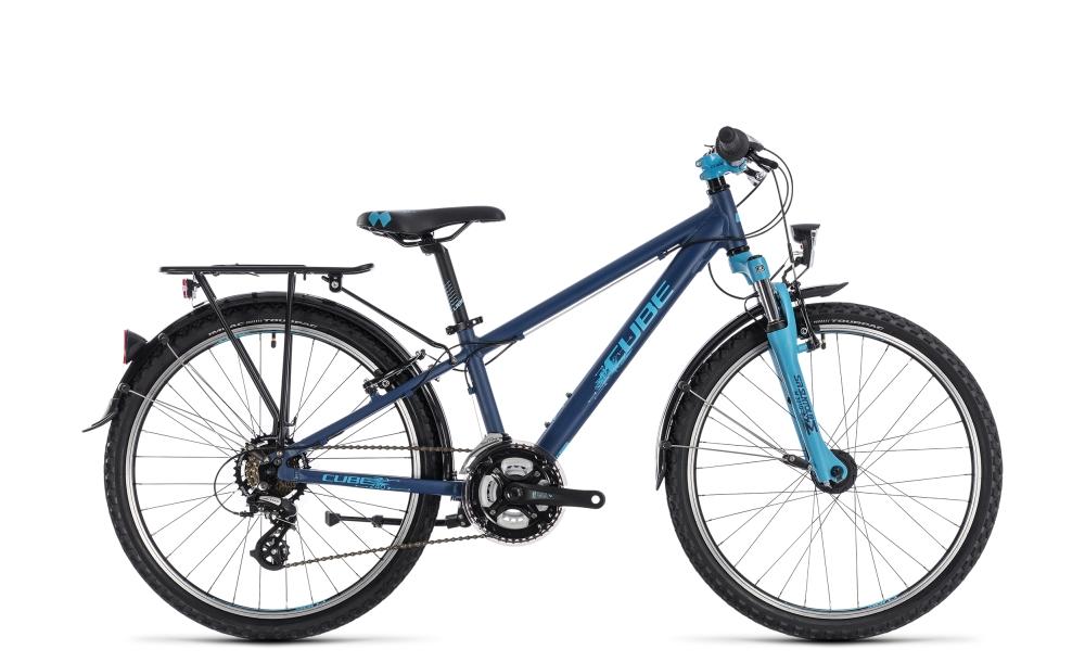 Cube Kid 240 Street boy dark blue´n´aqua 2018 Größe: 24´´ - Bikesport Scheid - Ihr Fahrradfachgeschäft im Saarland