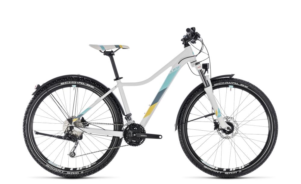 Cube Access WS Pro Allroad white´n´blue 2018 Größe: 13,5´´ - Bikesport Scheid - Ihr Fahrradfachgeschäft im Saarland