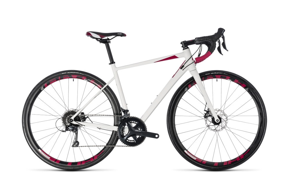 Cube Axial WS Pro Disc white´n´berry 2018 Größe: 47 cm - Bergmann Bike & Outdoor