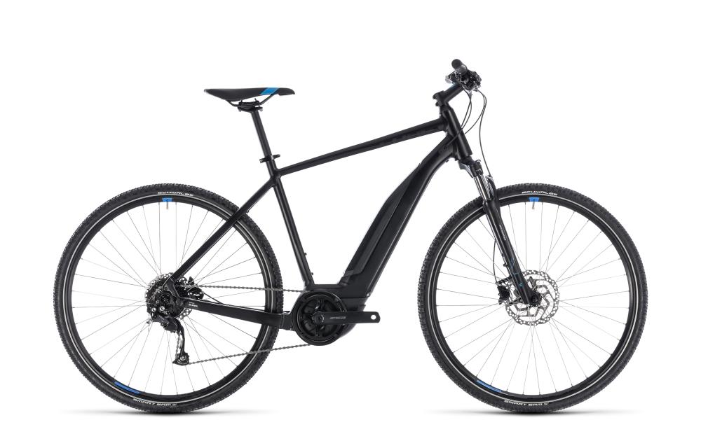 Cube Cross Hybrid ONE 400 black´n´blue 2018 Größe: 50 cm - Bikesport Scheid - Ihr Fahrradfachgeschäft im Saarland