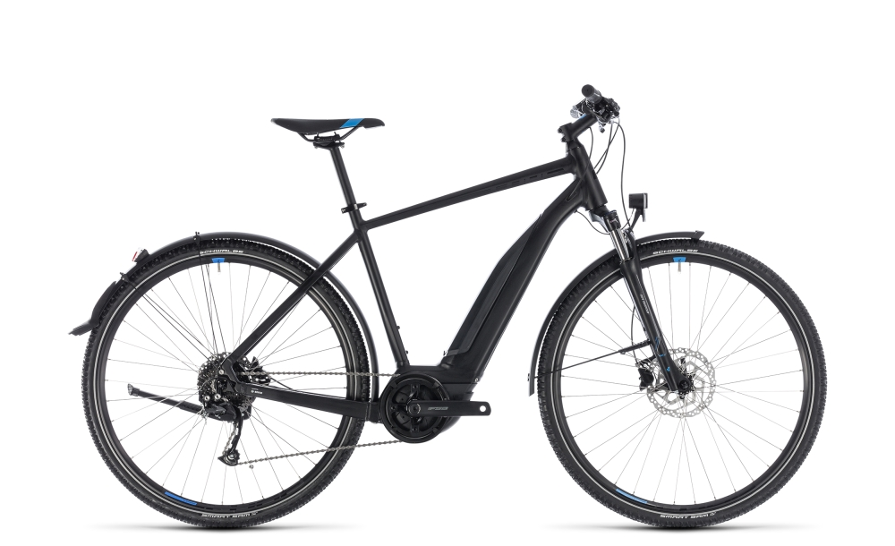 Cube Cross Hybrid ONE Allroad 400 black´n´blue 2018 Größe: 50 cm - Bergmann Bike & Outdoor