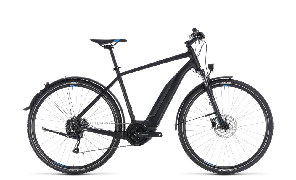 Cube Cross Hybrid ONE Allroad 500 black´n´blue 2018 Größe: 50 cm - Bikesport Scheid - Ihr Fahrradfachgeschäft im Saarland