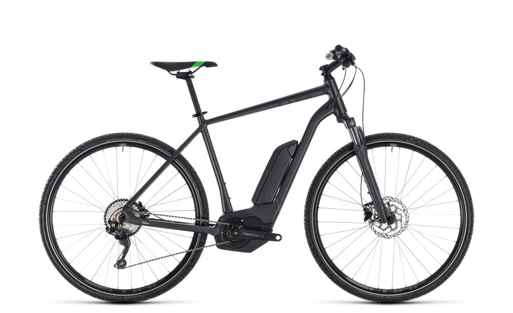 Cube Cross Hybrid Pro 400 grey´n´flashgreen 2018 Größe: 50 cm - Bergmann Bike & Outdoor