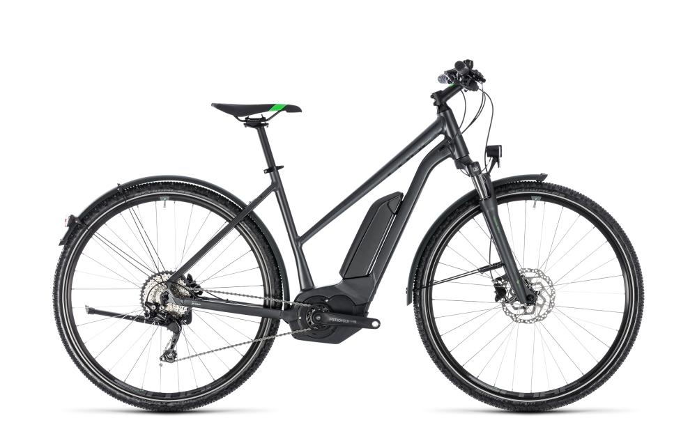 Cube Cross Hybrid Pro Allroad 500 grey´n´flashgreen 2018 Größe: Trapeze 50 cm - Cube Bikes » Fahrrad kaufen im Cube Bike Store Fahrrad Shop