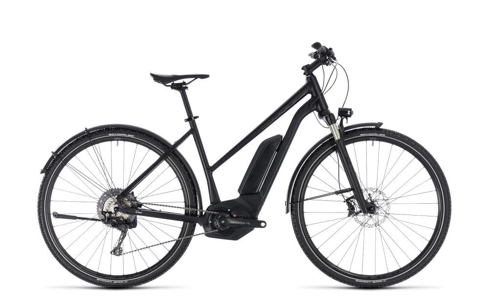 Cube Cross Hybrid SL Allroad 500 black edition 2018 Größe: Trapeze 46 cm - Bikesport Scheid - Ihr Fahrradfachgeschäft im Saarland