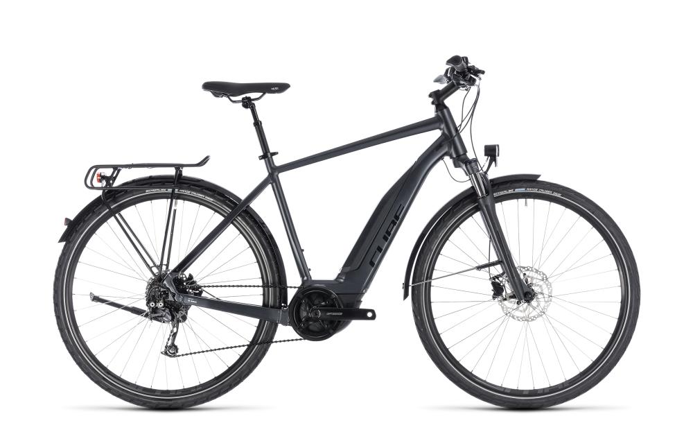 Cube Touring Hybrid ONE 400 iridium´n´black 2018 Größe: 50 cm - Bikesport Scheid - Ihr Fahrradfachgeschäft im Saarland