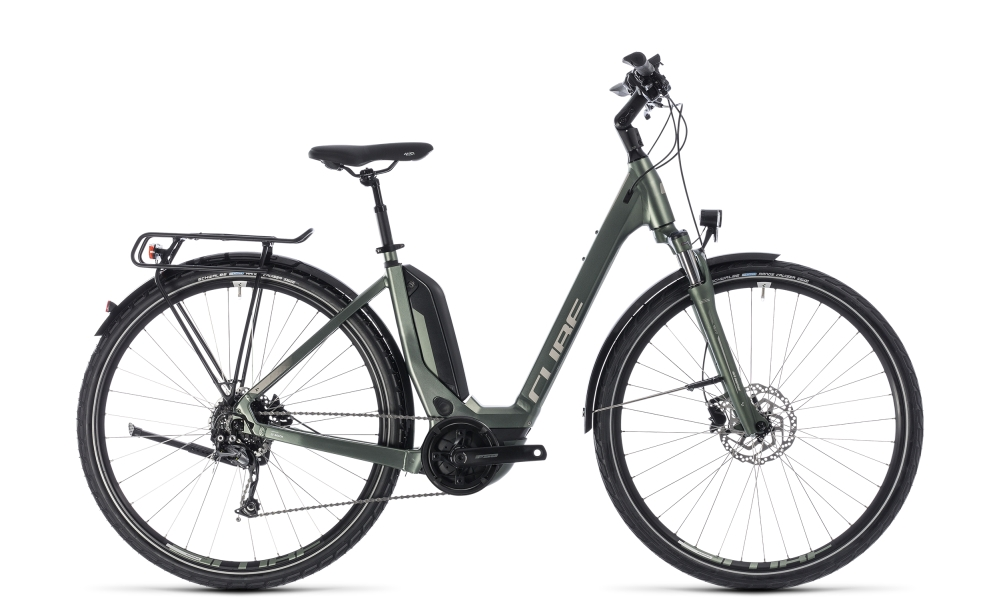Cube Touring Hybrid ONE 500 frostgreen´n´silver 2018 Größe: Easy Entry 54 cm - Cube Touring Hybrid ONE 500 frostgreen´n´silver 2018 Größe: Easy Entry 54 cm