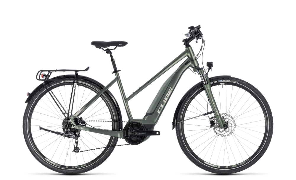 Cube Touring Hybrid ONE 500 frostgreen´n´silver 2018 Größe: Trapeze 46 cm - Cube Touring Hybrid ONE 500 frostgreen´n´silver 2018 Größe: Trapeze 46 cm