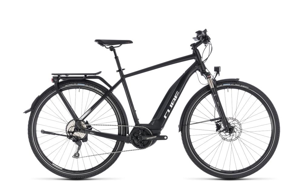 Cube Touring Hybrid Pro 400 black´n´white 2018 Größe: 54 cm - Bikesport Scheid - Ihr Fahrradfachgeschäft im Saarland