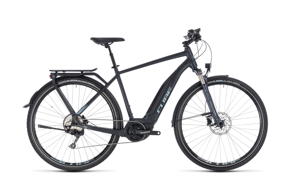 Cube Touring Hybrid Pro 400 darknavy´n´blue 2018 Größe: 50 cm - Bikesport Scheid - Ihr Fahrradfachgeschäft im Saarland