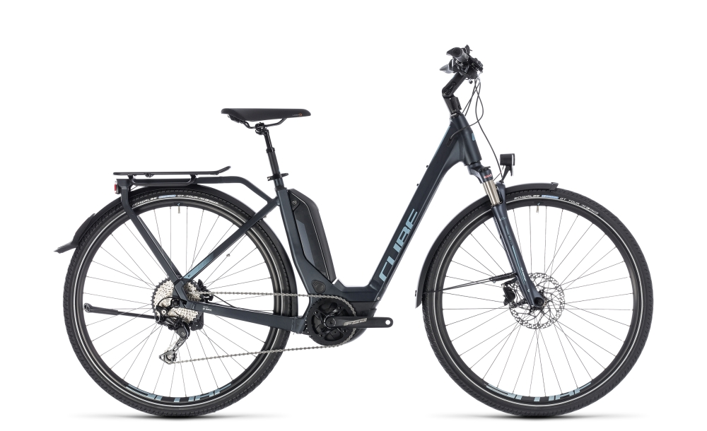 Cube Touring Hybrid Pro 400 darknavy´n´blue 2018 Größe: Easy Entry 46 cm - Bikesport Scheid - Ihr Fahrradfachgeschäft im Saarland