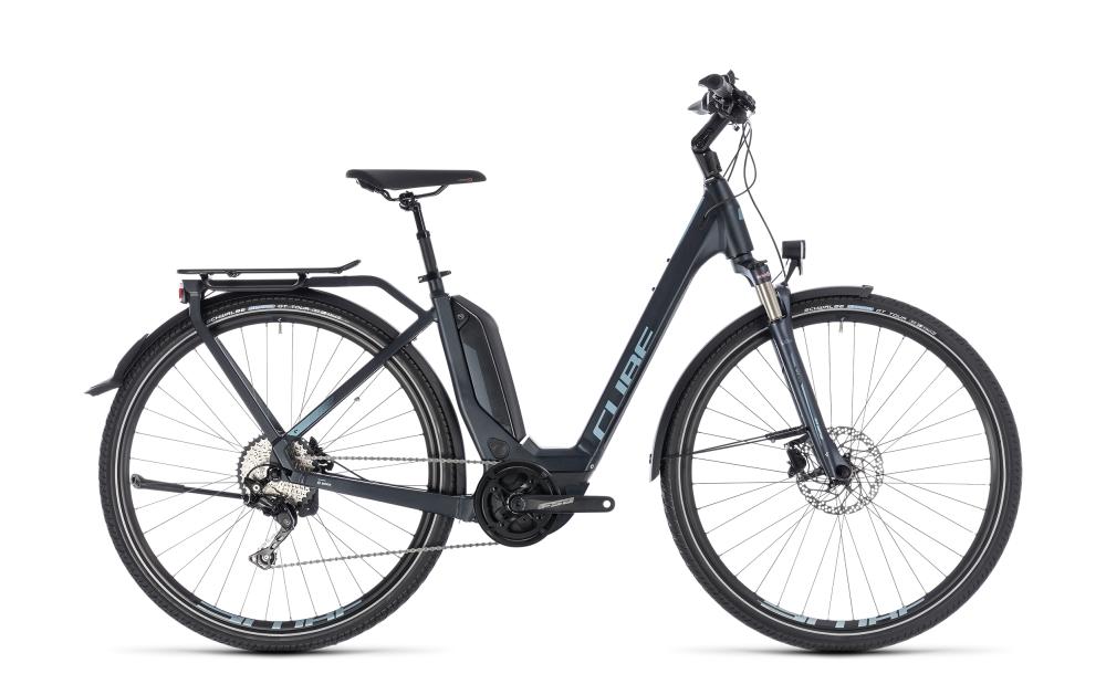 Cube Touring Hybrid Pro 500 darknavy´n´blue 2018 Größe: Easy Entry 46 cm - Bikesport Scheid - Ihr Fahrradfachgeschäft im Saarland