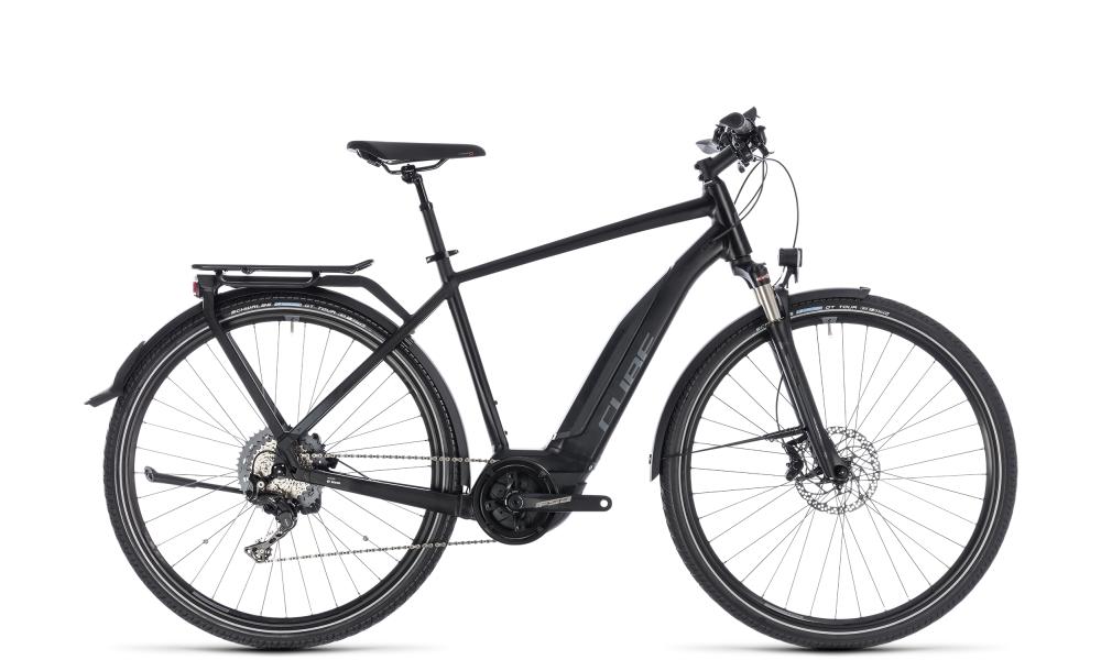 Cube Touring Hybrid EXC 500 black´n´grey 2018 Größe: 58 cm - Bergmann Bike & Outdoor