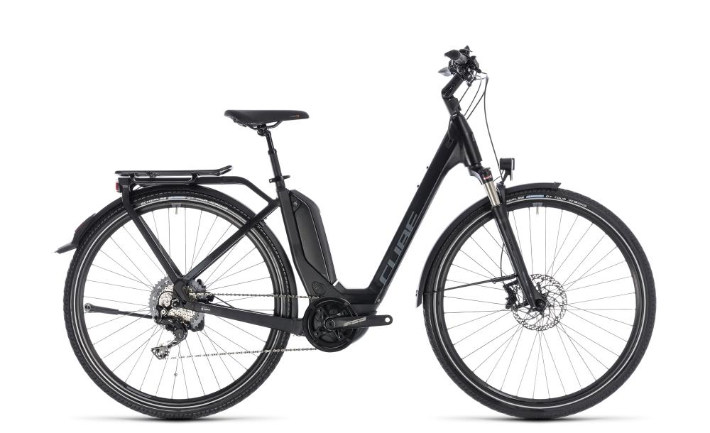Cube Touring Hybrid EXC 500 black´n´grey 2018 Größe: Easy Entry 46 cm - Bergmann Bike & Outdoor
