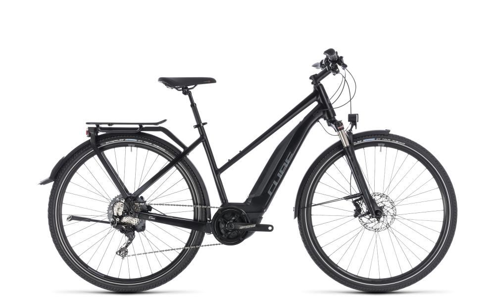 Cube Touring Hybrid EXC 500 black´n´grey 2018 Größe: Trapeze 46 cm - Bergmann Bike & Outdoor
