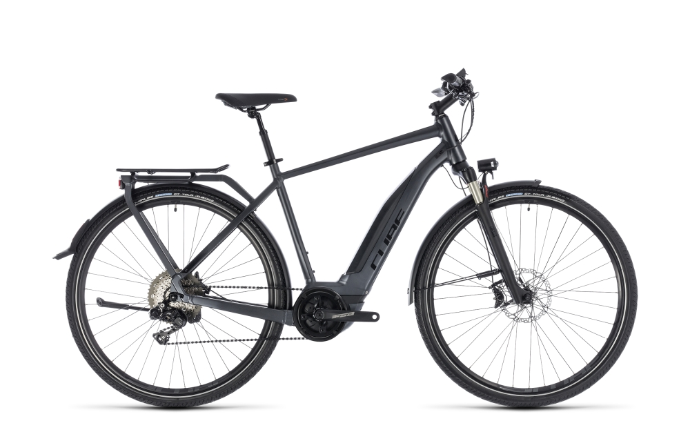 Cube Touring Hybrid SL 500 iridium´n´red 2018 Größe: 50 cm - Bikesport Scheid - Ihr Fahrradfachgeschäft im Saarland