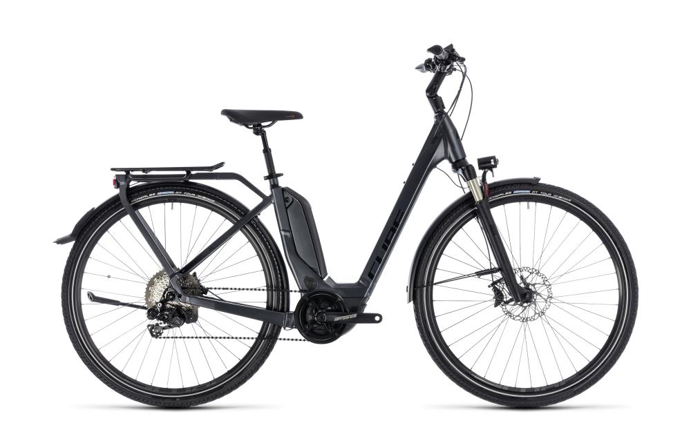 Cube Touring Hybrid SL 500 iridium´n´red 2018 Größe: Easy Entry 46 cm - Bikesport Scheid - Ihr Fahrradfachgeschäft im Saarland