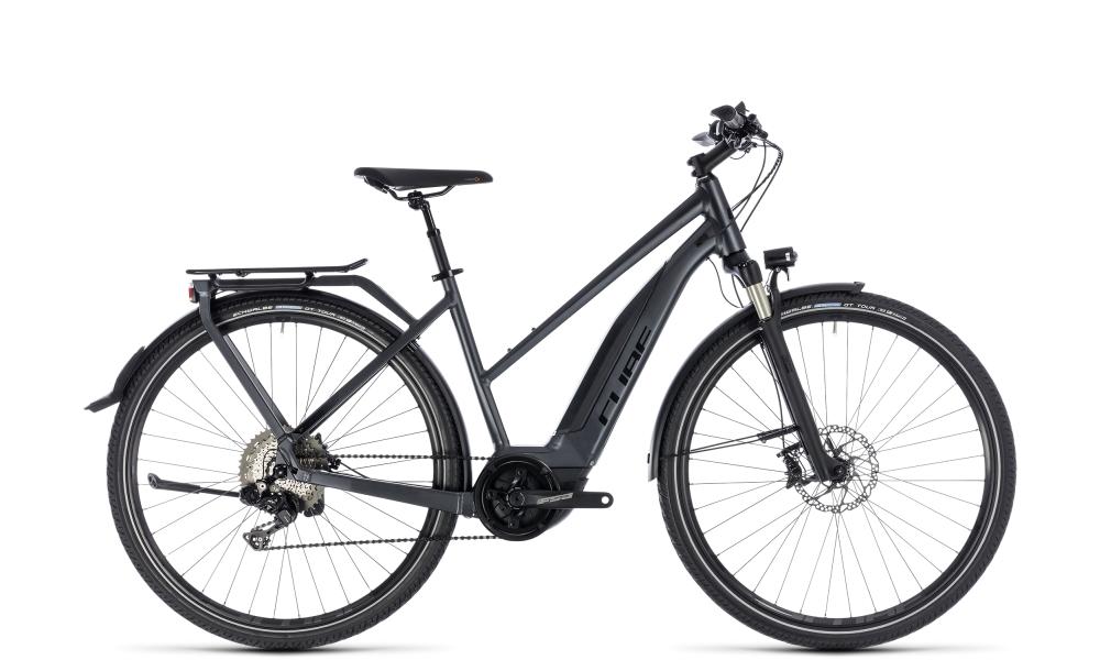 Cube Touring Hybrid SL 500 iridium´n´red 2018 Größe: Trapeze 46 cm - Bikesport Scheid - Ihr Fahrradfachgeschäft im Saarland
