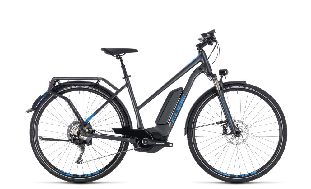 Cube Kathmandu Hybrid EXC 500 iridium´n´blue 2018 Größe: Trapeze 46 cm - Bikesport Scheid - Ihr Fahrradfachgeschäft im Saarland