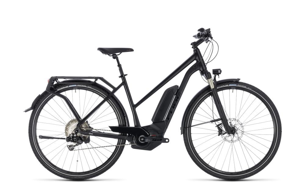 Cube Kathmandu Hybrid SL 500 black edition 2018 Größe: Trapeze 46 cm - Bergmann Bike & Outdoor