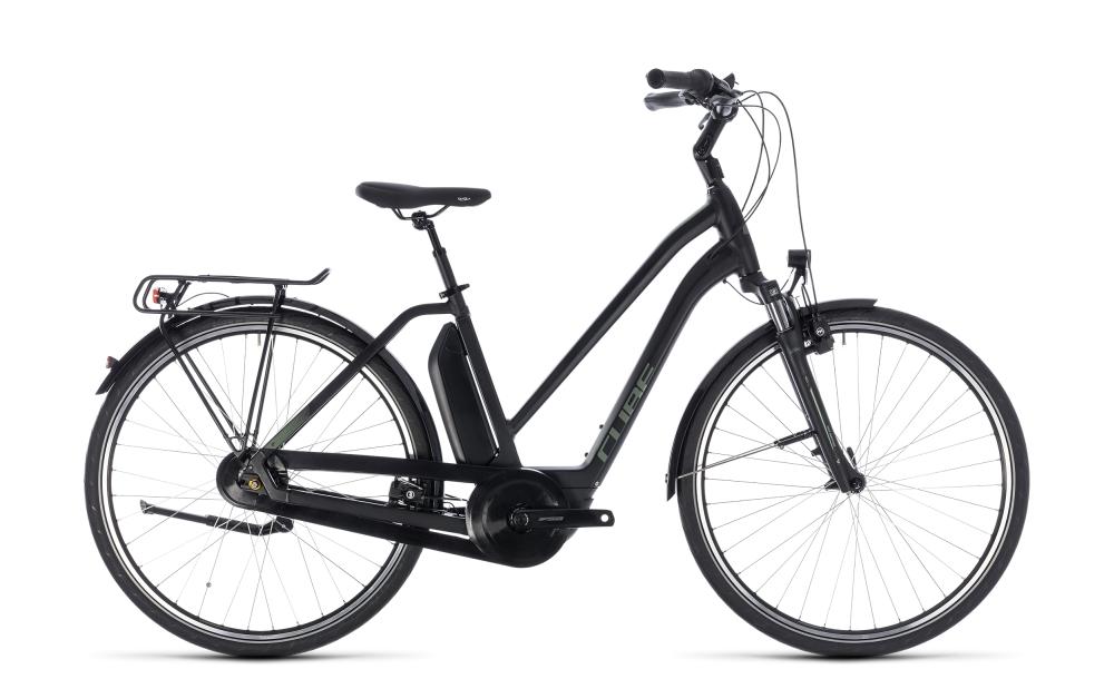 Cube Town Hybrid ONE 400 black´n´frostgreen 2018 Größe: Trapeze 46 cm - Bikesport Scheid - Ihr Fahrradfachgeschäft im Saarland