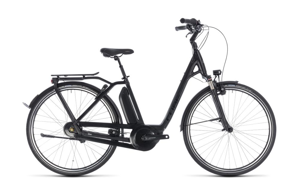 Cube Town Hybrid Pro RT 400 black´n´grey 2018 Größe: Easy Entry 58 cm - Bergmann Bike & Outdoor