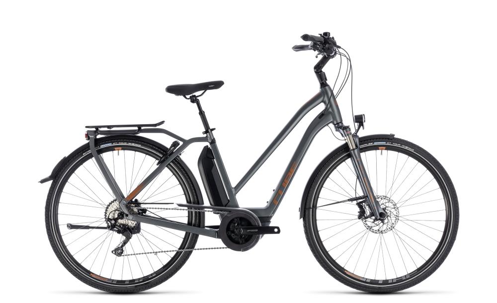 Cube Town Hybrid Sport Pro 400 grey´n´copper 2018 Größe: Trapeze 46 cm - Bikesport Scheid - Ihr Fahrradfachgeschäft im Saarland