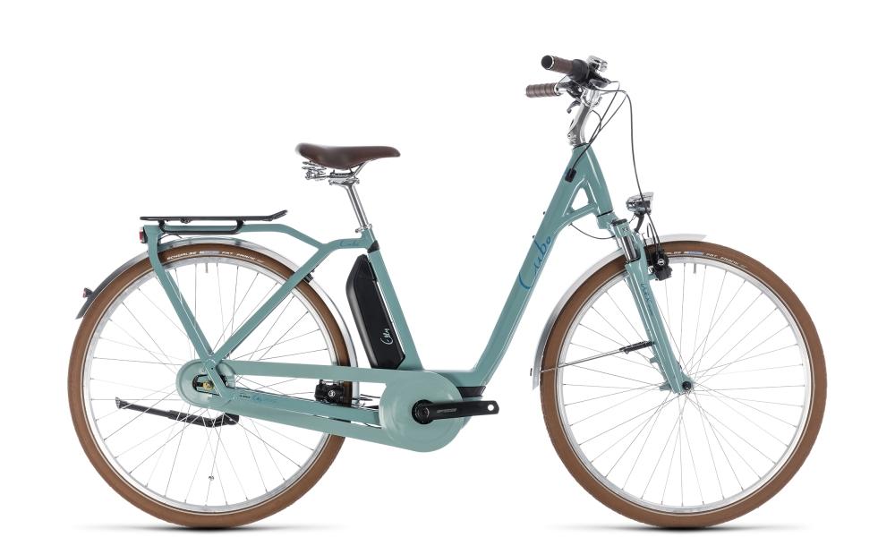 Cube Elly Cruise Hybrid 500 pistachio´n´blue 2018 Größe: Easy Entry 42 cm - Bikesport Scheid - Ihr Fahrradfachgeschäft im Saarland