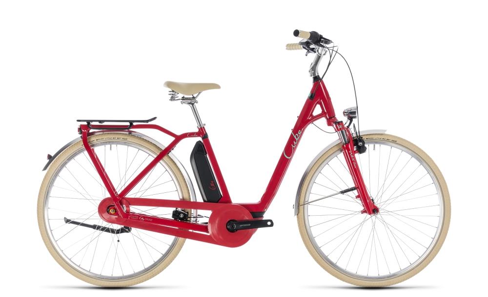 Cube Elly Cruise Hybrid 500 red´n´mint 2018 Größe: Easy Entry 42 cm - Bikesport Scheid - Ihr Fahrradfachgeschäft im Saarland