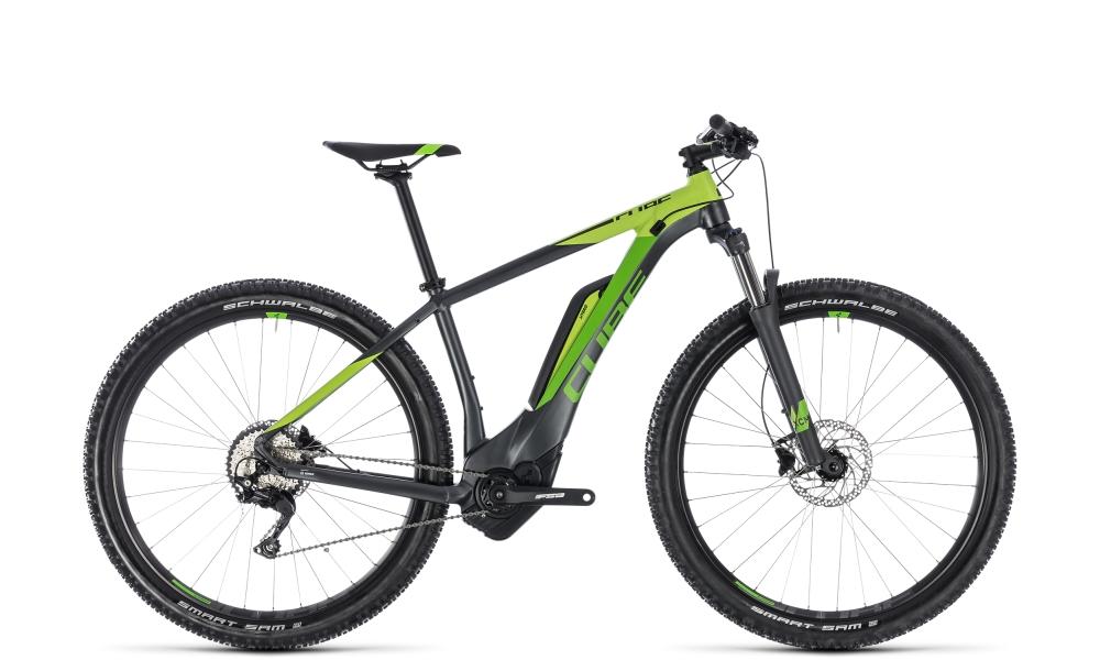 Cube Reaction Hybrid Pro 400 iridium´n´green 2018 Größe: 16´´ - Bergmann Bike & Outdoor