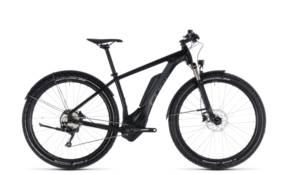 Cube Reaction Hybrid Pro Allroad 500 black´n´grey 2018 Größe: 16´´ - Bergmann Bike & Outdoor