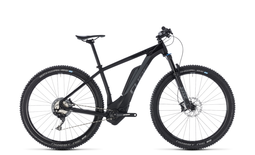 Cube Reaction Hybrid EXC 500 black´n´grey 2018 Größe: 16´´ - Bergmann Bike & Outdoor
