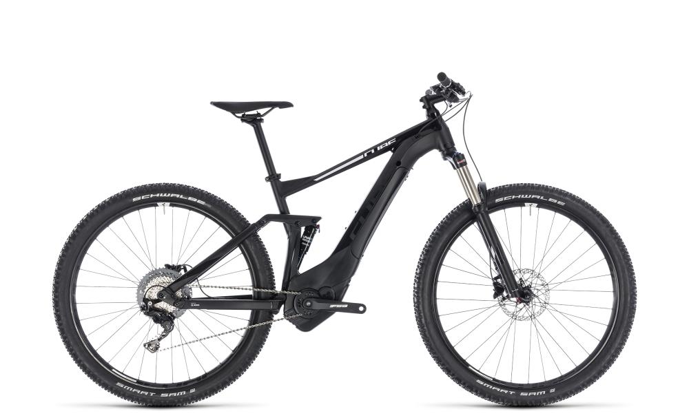 Cube Stereo Hybrid 120 Pro 500 black´n´white 2018 Größe: 16´´ - Bikesport Scheid - Ihr Fahrradfachgeschäft im Saarland