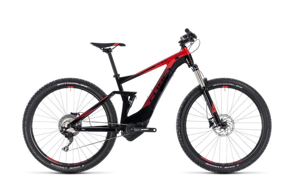Cube Stereo Hybrid 120 Pro 500 black´n´red 2018 Größe: 16´´ - Bikesport Scheid - Ihr Fahrradfachgeschäft im Saarland