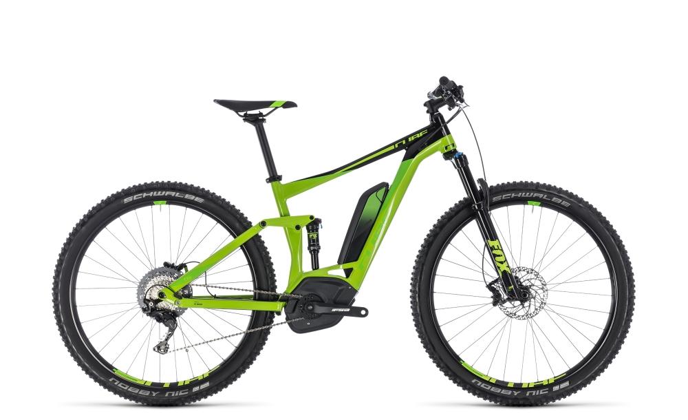 Cube Stereo Hybrid 120 EXC 500 green´n´leaf green 2018 Größe: 16´´ - Bikesport Scheid - Ihr Fahrradfachgeschäft im Saarland