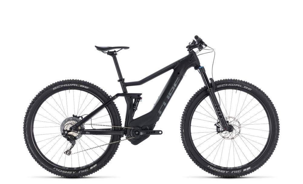 Cube Stereo Hybrid 120 HPC Race 500 black´n´grey 2018 Größe: 16´´ - Bergmann Bike & Outdoor
